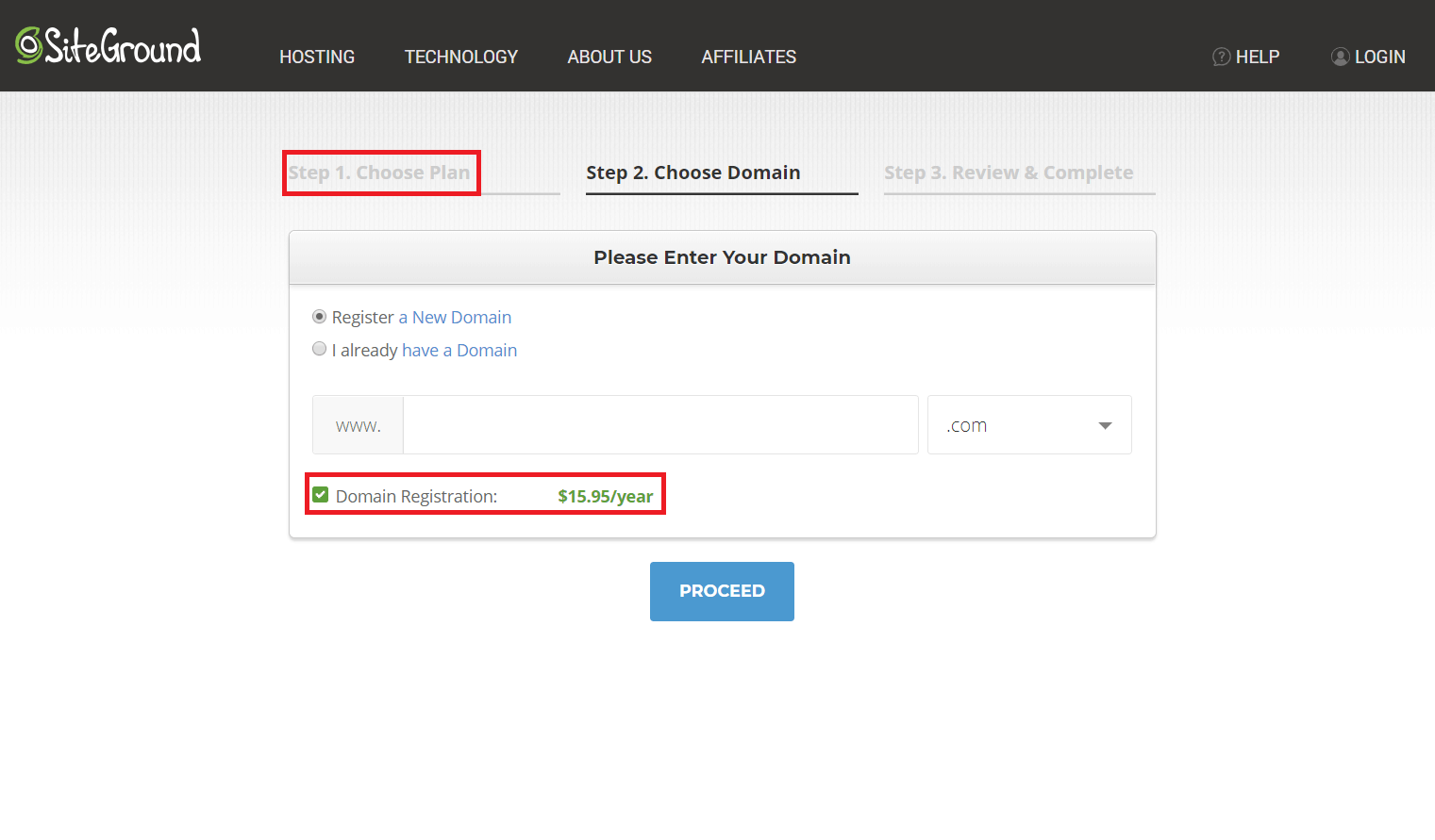 How to Create a New Account with SiteGround-image2