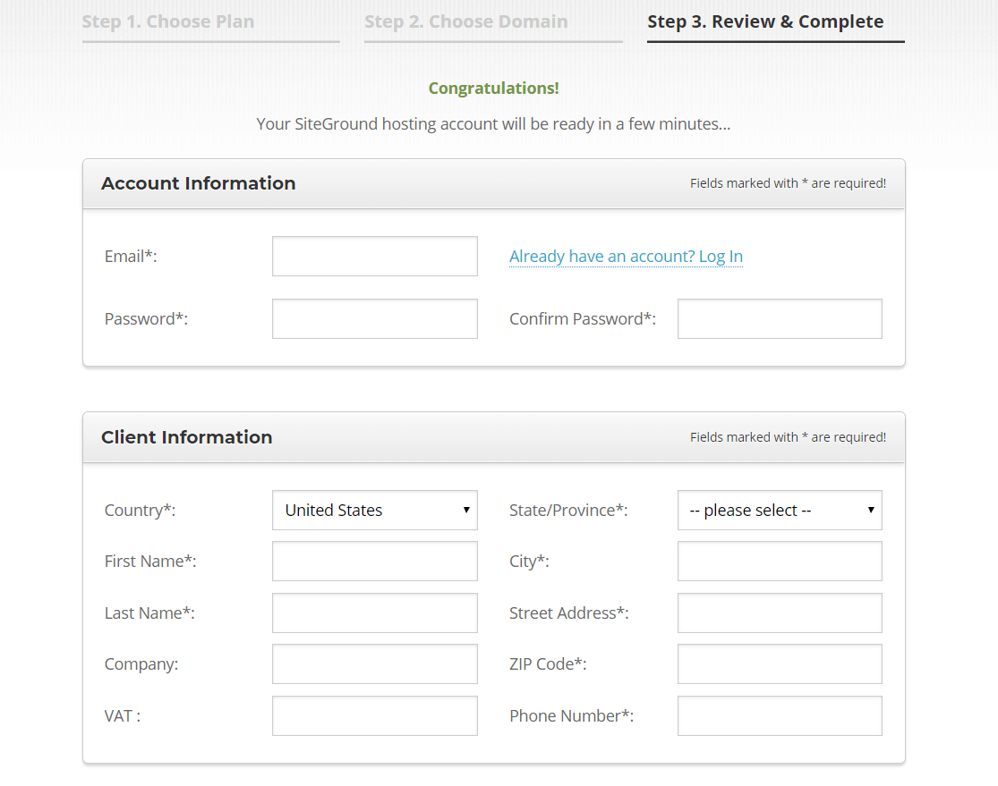 How to Create a New Account with SiteGround-image3