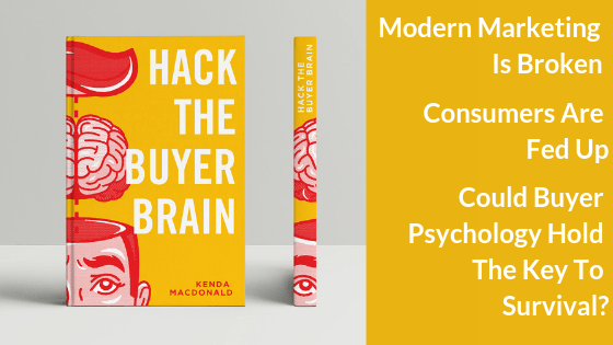 Kenda McDonald's new book, Hack the Buyer Brain