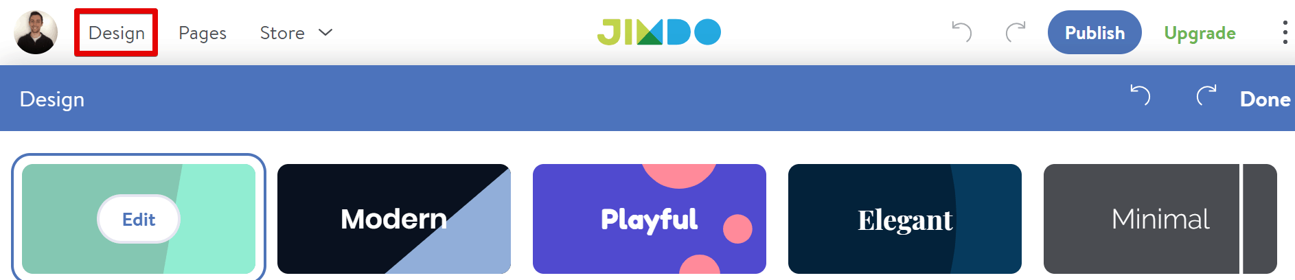 Jimdo Dolphin vs. Jimdo Creator – 6 Key Areas Compared 2019-image6