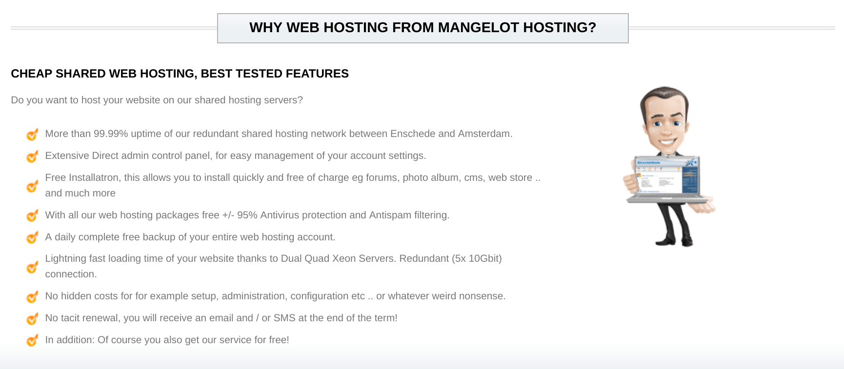 Mangelot Hosting-overview1