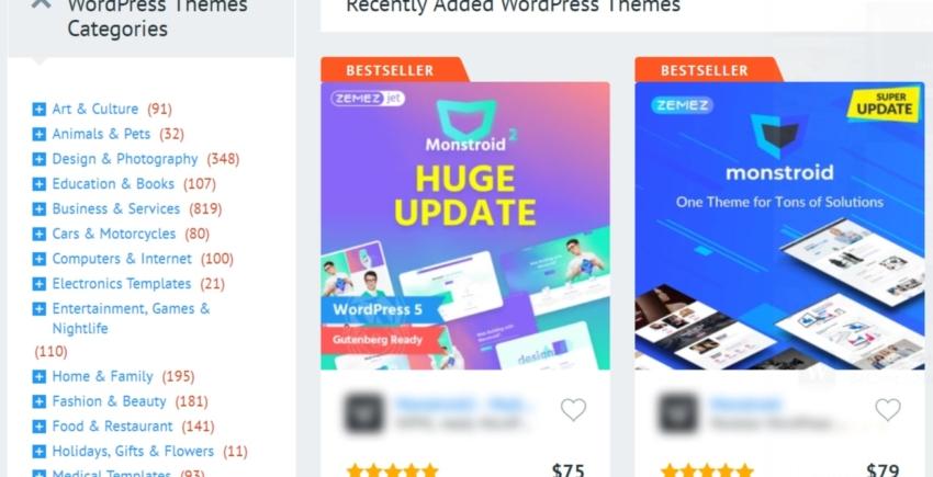 Recenzie TemplateMonster – Cele mai bune teme pentru WordPress?