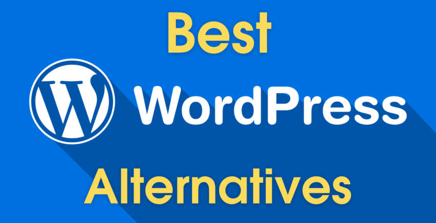 The 5 Best WordPress Alternatives for Businesses and Non-Bloggers
