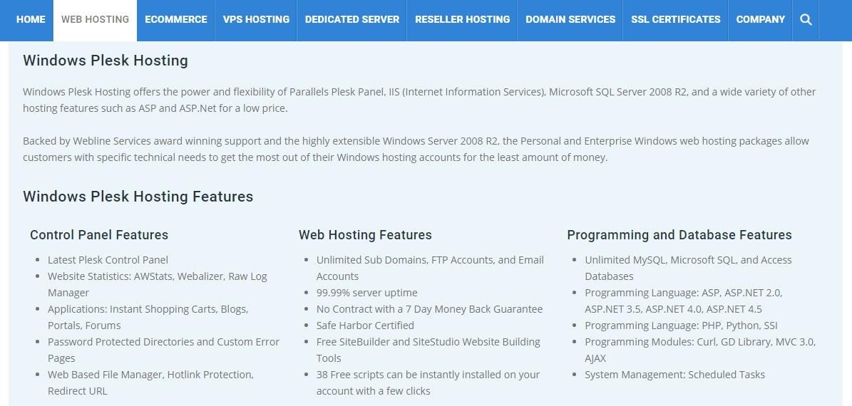 Webline-Services-overview1