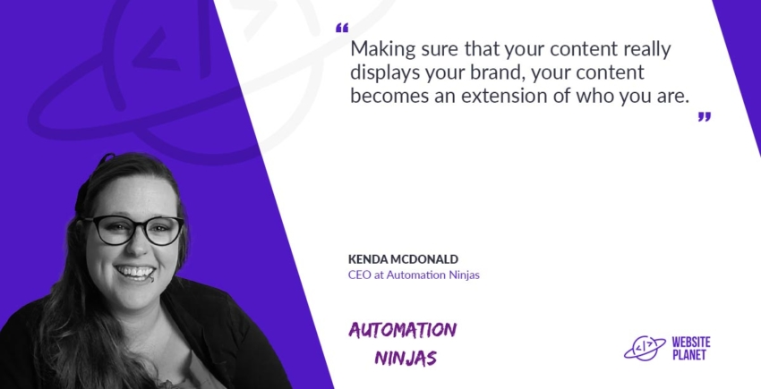 Kenda McDonald, CEO at Automation Ninjas