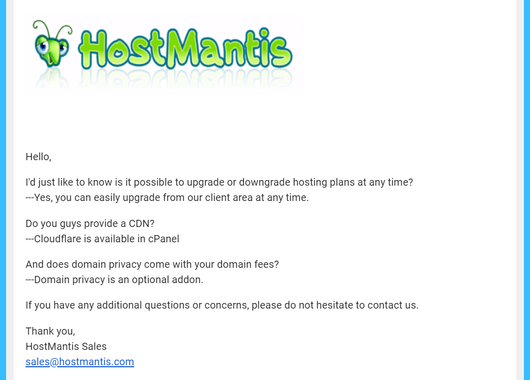 HostMantis