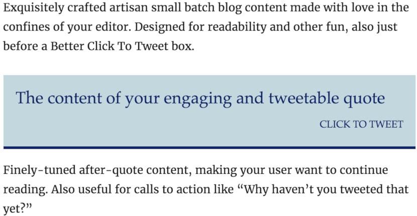 5 Best Click-to-Tweet Plugins for WordPress (and a Bonus)-image1