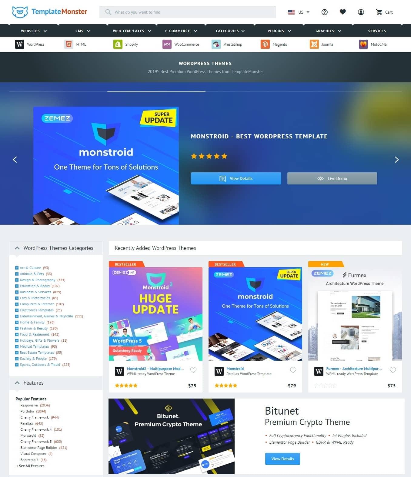 5 Top WordPress Theme Marketplaces-image2