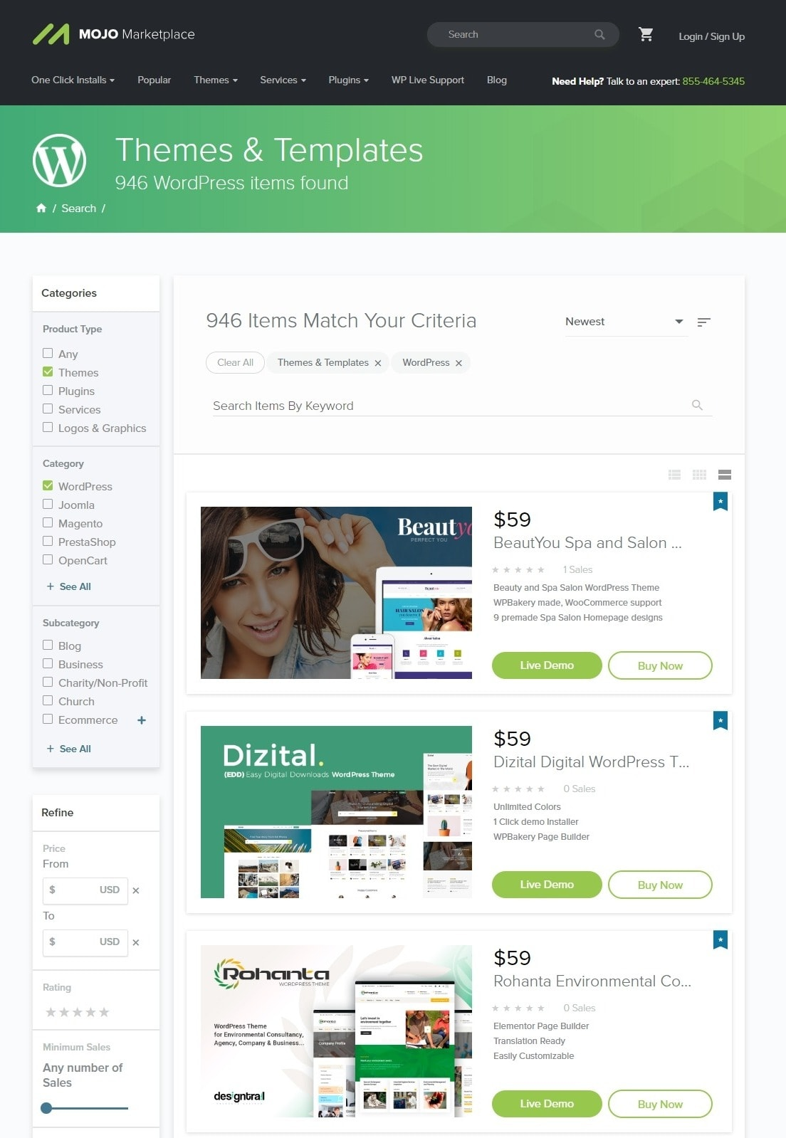 5 Top WordPress Theme Marketplaces-image4