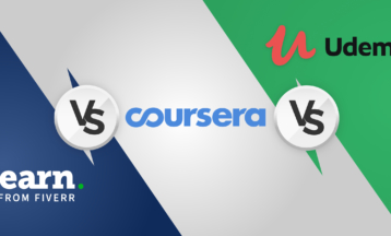 Nätkursjämförelse – Fiverr Learn vs. Udemy vs. Coursera 2020