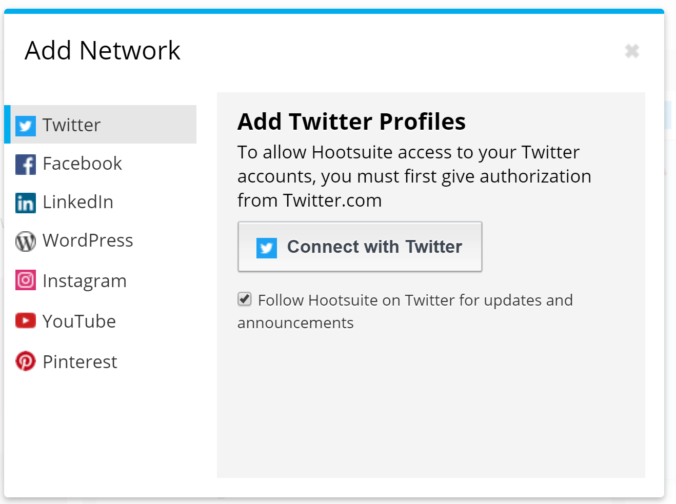 Hootsuite vs. Buffer - How to add networks on Hootsuite