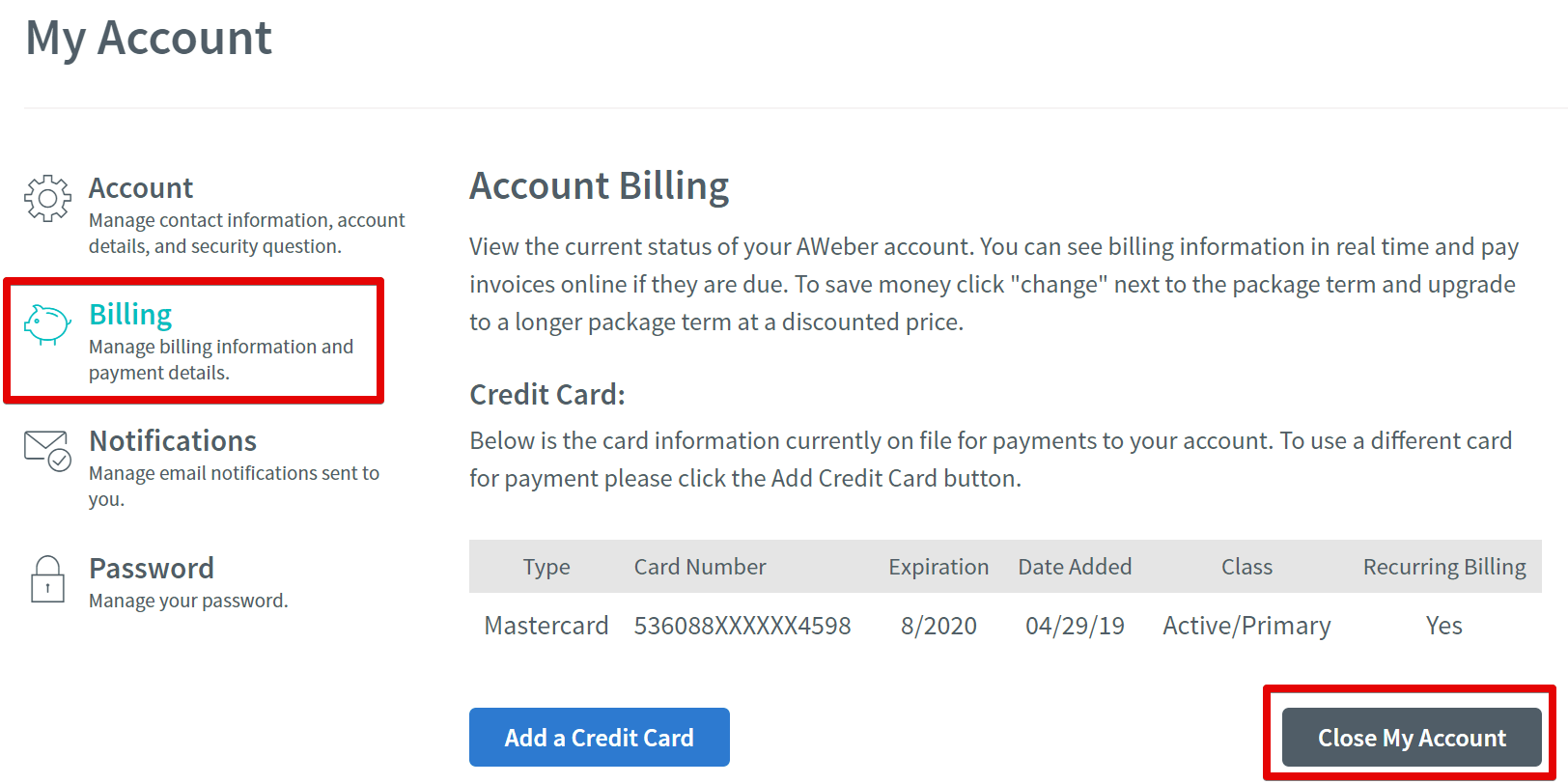 How to Cancel Your AWeber Account [+ GET REFUNDED]-image2
