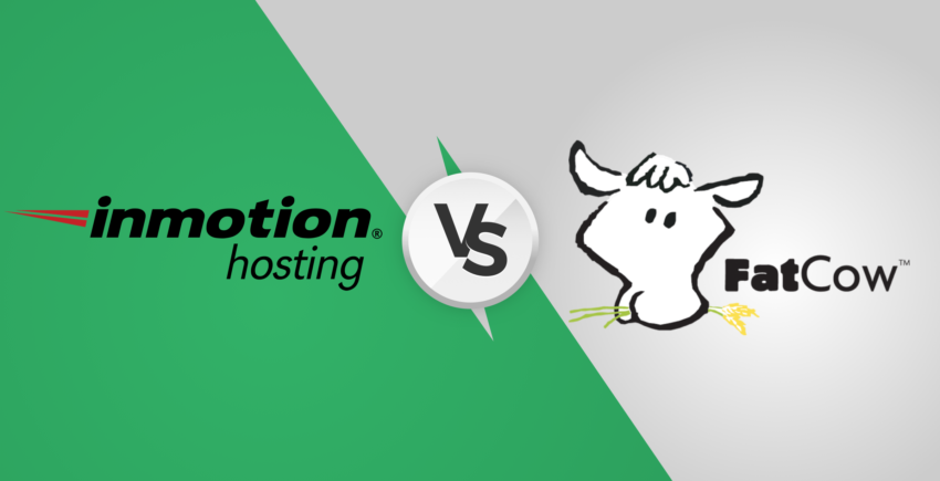 InMotion vs. FatCow – Which Web Host Is Right (FOR YOU)? (2019)