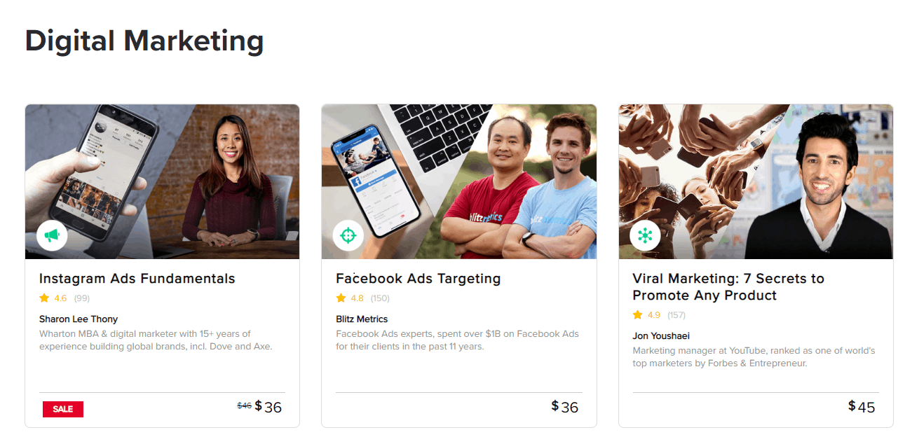 Online Course Comparison – Fiverr Learn vs Udemy vs Coursera-image1