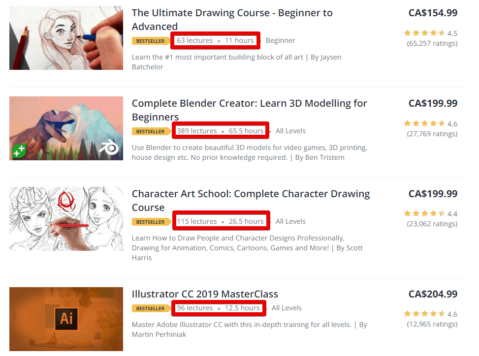 Online Course Comparison – Fiverr Learn vs Udemy vs Coursera-image10