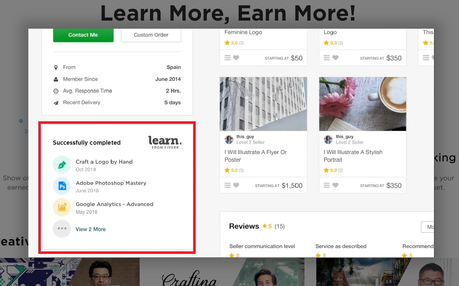 Online Course Comparison – Fiverr Learn vs Udemy vs Coursera-image12