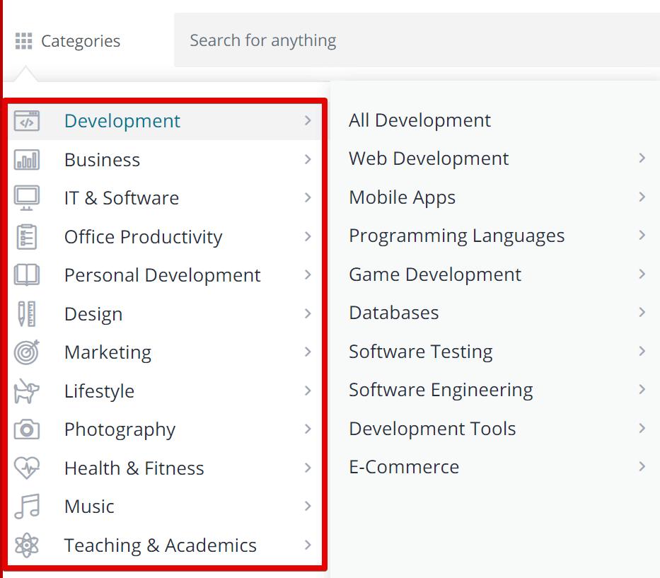 Online Course Comparison – Fiverr Learn vs Udemy vs Coursera-image3