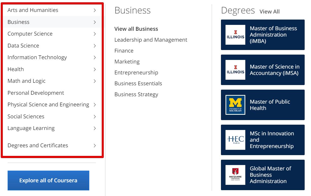 Online Course Comparison - Fiverr Learn vs Udemy vs Coursera