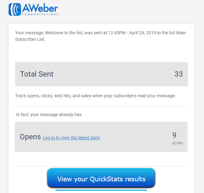 Read AWeber Analytics Like a Pro - Email Strategy Guide 2019-image9
