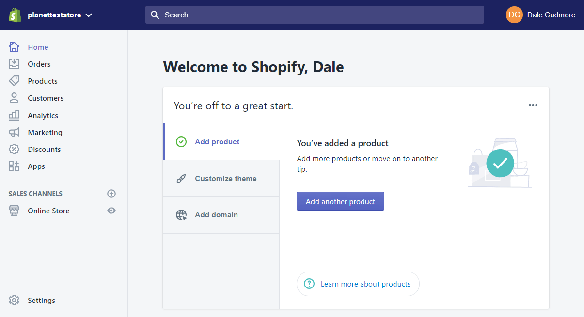 Shopify vs. WooCommerce -image1