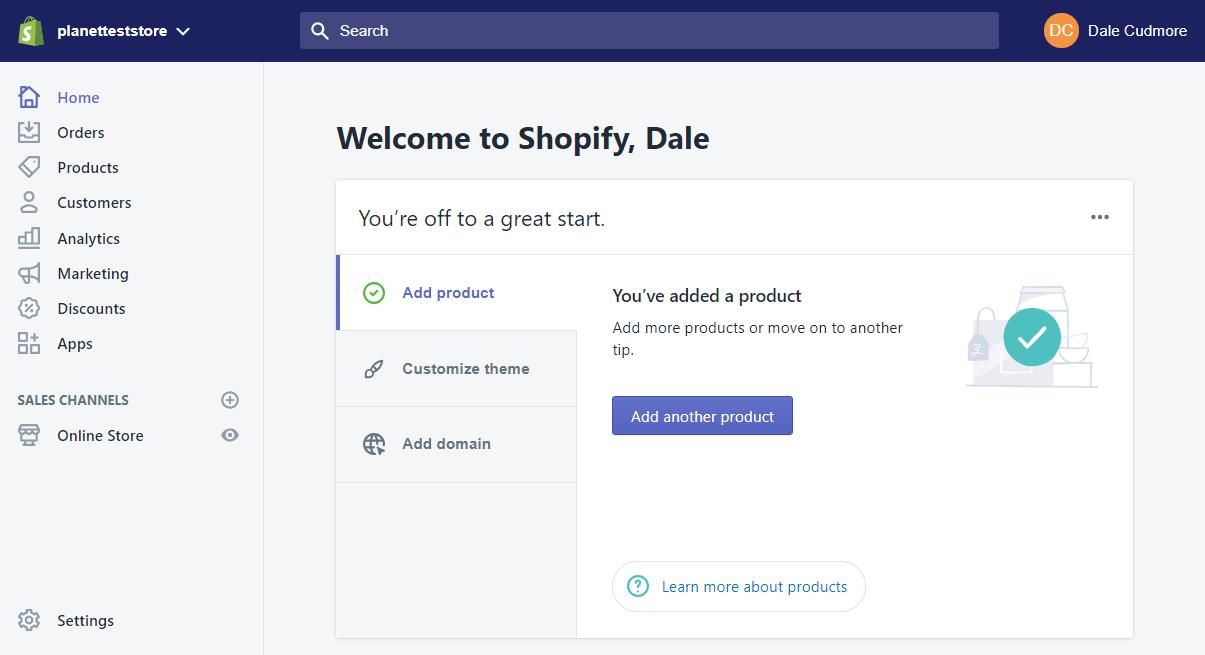 Shopify vs. WooCommerce -image1