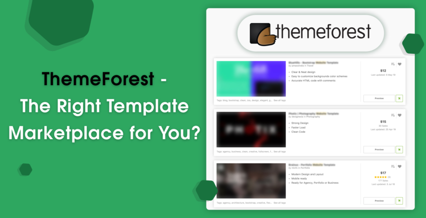 ThemeForest Review – Are the Templates Worth Your Money? 2019