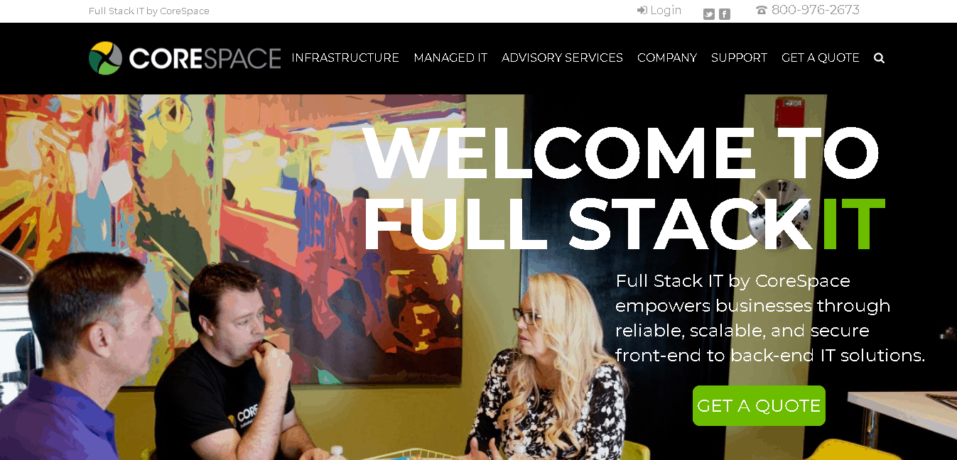 CoreSpace, Inc.