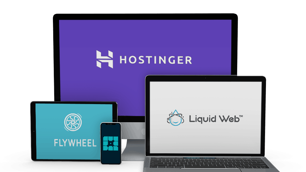 Top 5 web hostings