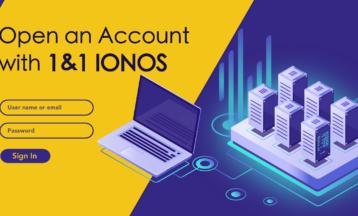 Как да създадете профил в 1&1 IONOS стъпка по стъпка