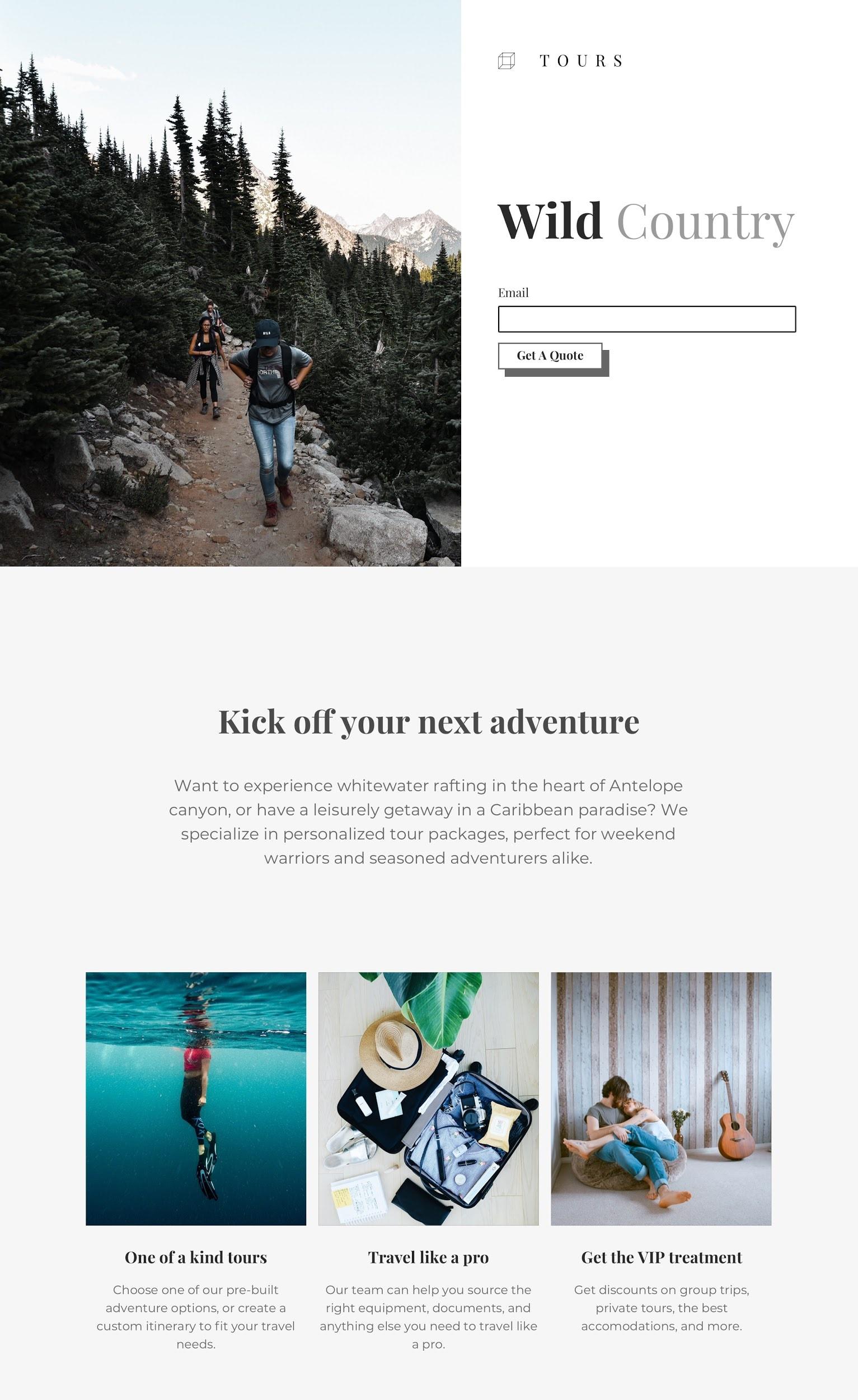 5 Best Mailchimp Landing Page Templates-image5