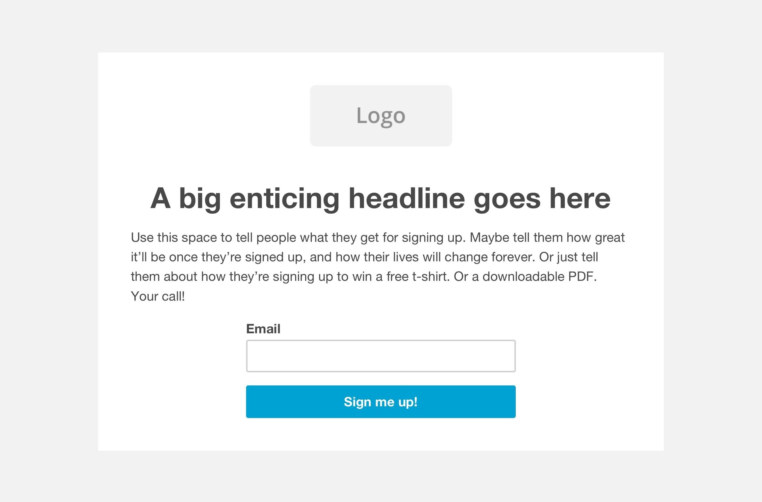 5 Best Mailchimp Landing Page Templates-image6