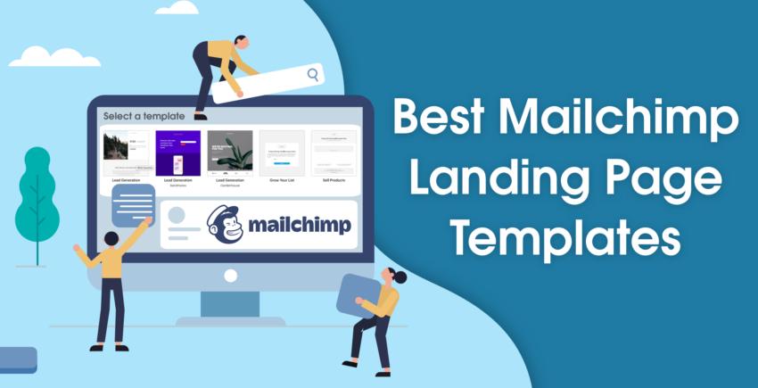 5 Best Mailchimp Landing Page Templates (THAT CONVERT) [2019]