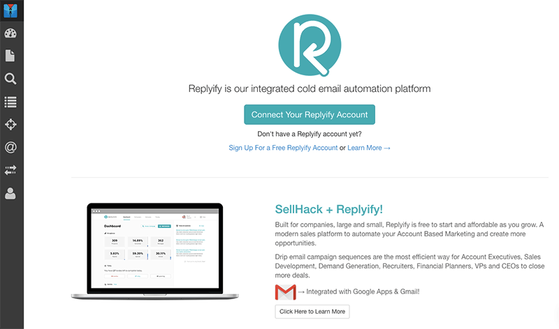 SellHack and Replyify – the Dynamic Duo for Successful Cold Email Campaigns