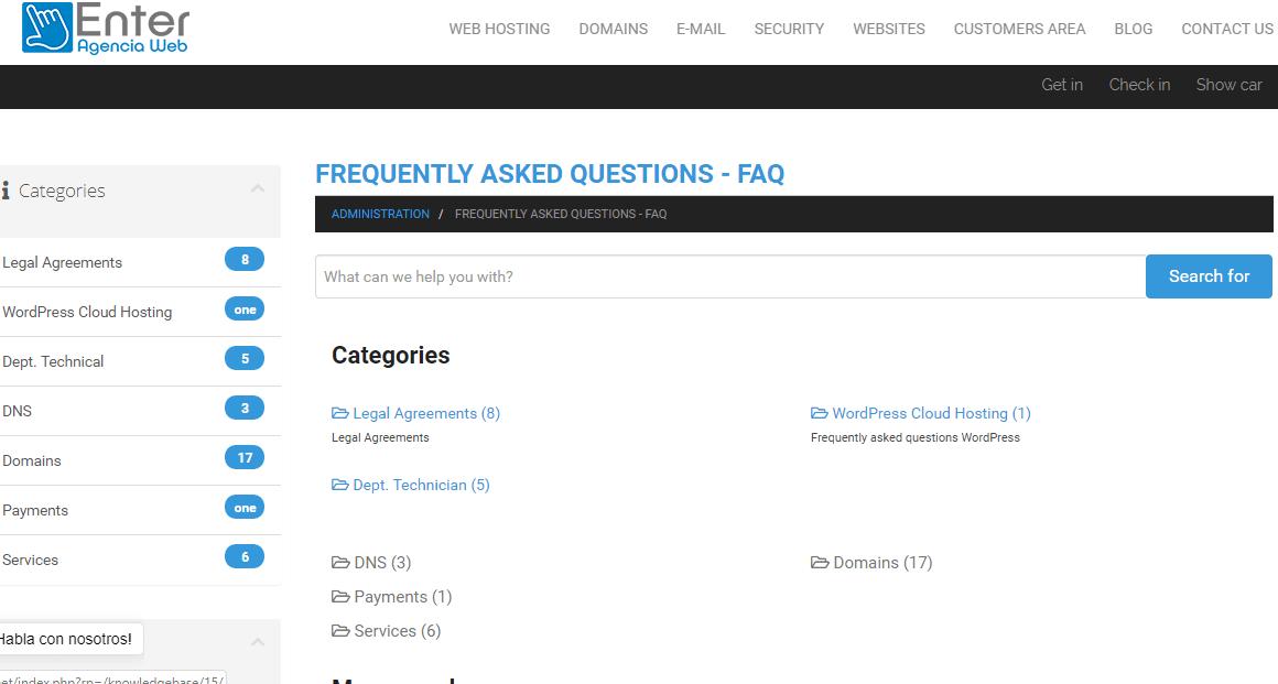 Enter Agencia Web