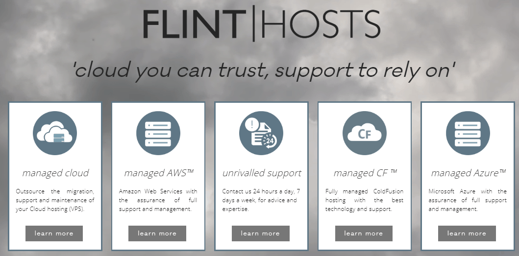 FlintHosts services