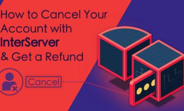 Как удалить аккаунт на InterServer и вернуть деньги
