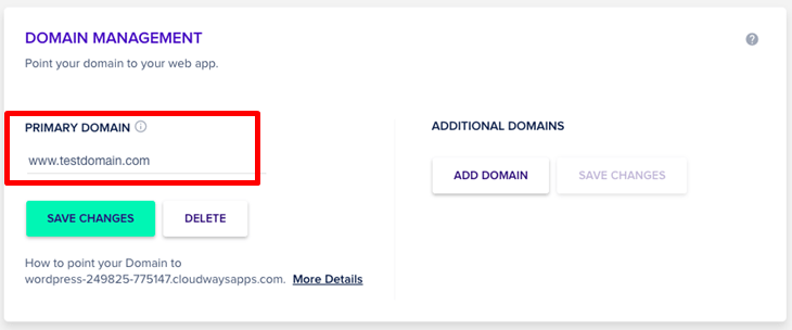 How to Connect a Domain and Install WordPress on Cloudways-image9