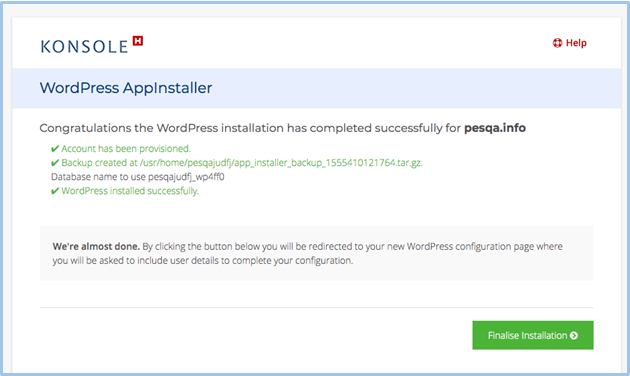 How to Connect a Domain and Install WordPress on Hetzner-image3