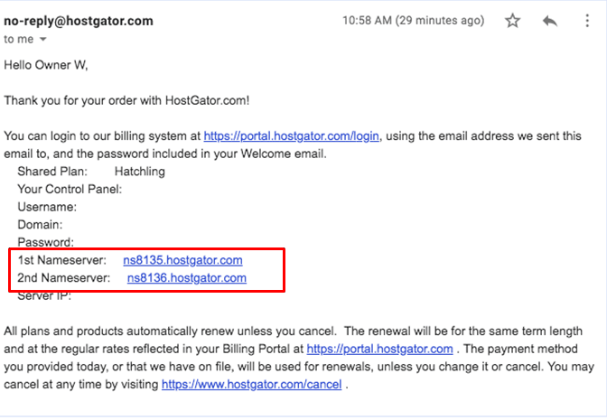 How to Connect a Domain and Install WordPress on HostGator-image2
