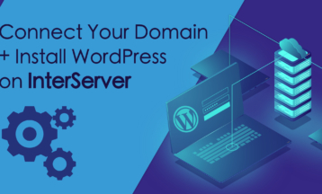 Как подключить домен и установить WordPress на InterServer