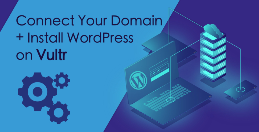 Как подключить домен и установить WordPress на Vultr