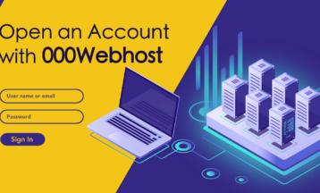Как зарегистрировать новый аккаунт на сервисе 000webhost