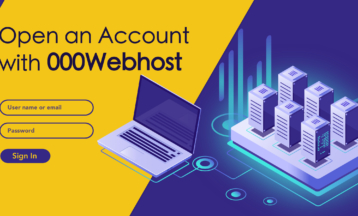 000webhost에서 새로운 계정을 생성하는 방법