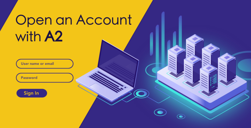 How to Create a New Account with A2 Hosting