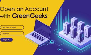 Hvordan lage en ny konto med GreenGeeks