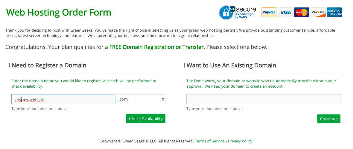 How to Create a New Account with GreenGeeks-image1