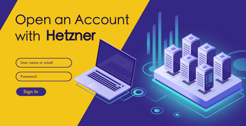 How to Create a New Account with Hetzner