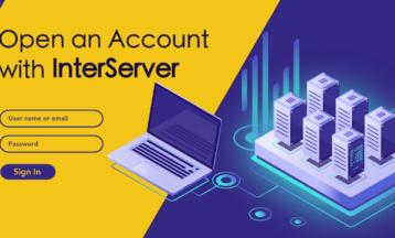 كيفية إنشاء حساب جديد على InterServer