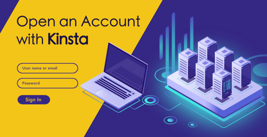 How to Create a New Account with Kinsta