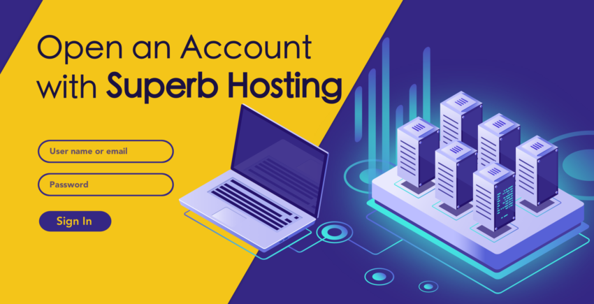 How to Create a New Account with Superb Internet